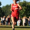 Hamilton: Masco senior Kathleen Gillespie sprints towards the finish line on Wednesday afternoon. David Le/Salem News
