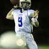 Peabody: Danvers junior quarterback Nick Andreas fires a pass against Peabody on Friday evening. David Le/Salem News