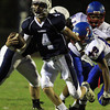 Peabody: Peabody's Mike Raymond breaks into open space against Somerville on Friday evening. David Le/Salem News