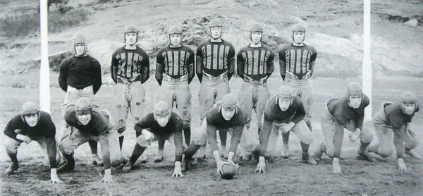 The 1923 Salem High football squad, shown here in a picture from the 100 Years of Salem High School Football publication, was Bill Broderick's first team and it went 8-2-2. It was the first time Salem reached eight wins since 1903.