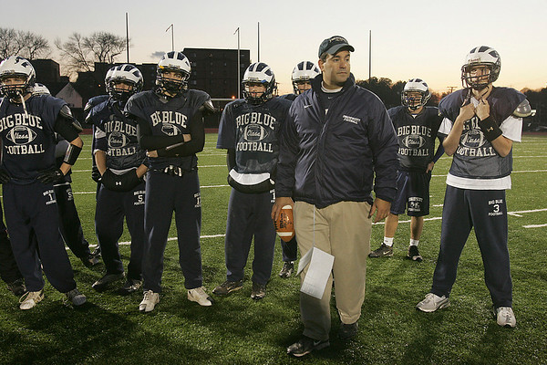 Swampscott head coach Steve Dembowski said one of the reasons why his spread offense has been successful is because the players, coaches and parents have bought into the system.