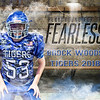 Brock Woods E Fearless 16x20 FOOTBALL