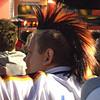 """Fan with """"German Hair"""""""