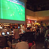 Public viewing in a bar in Cologne