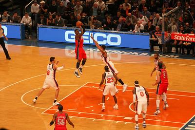 NY Knicks vs. NJ Nets.