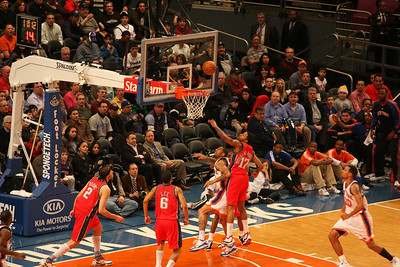 New York Knicks Vs. NJ Nets