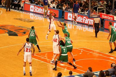 Nate Robinson taking a shot.