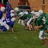 10-4-2009  The snap - Our 5th and 6th grade boys play their 1st official game.