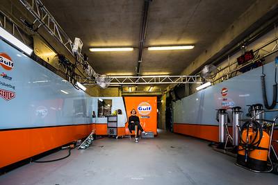 #86 GULF RACING (GBR) PORSCHE 911 RSR GTE AM MICHAEL WAINWRIGHT (GBR) BENJAMIN BARKER (GBR) ALEXANDER DAVISON (AUS) Copyright : Guénolé TREHOREL (ACO)
