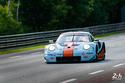 #86 - GULF RACING (GBR)  CAR MODEL : PORSCHE 911 RSR TYRES : MICHELIN DRIVERS : Michael WAINWRIGHT (GBR) Benjamin BARKER (GBR) Thomas PREINING (AUT)