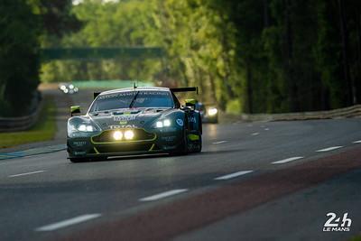 #98 - ASTON MARTIN RACING (GBR)  CAR MODEL : ASTON MARTIN VANTAGE TYRES : MICHELIN DRIVERS : Paul DALLA LANA (CAN) Pedro LAMY (PRT) Mathias LAUDA (AUT)