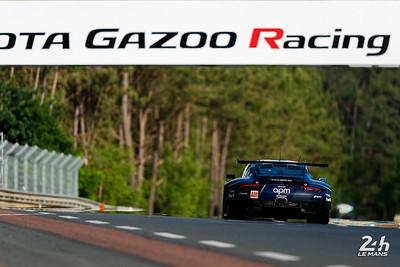 #78 - PROTON COMPETITION (DEU)  CAR MODEL : PORSCHE 911 RSR TYRES : MICHELIN DRIVERS : Louis PRETTE (ITA) Philippe PRETTE (ITA) Vincent ABRIL (FRA)