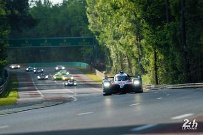 #8 - TOYOTA GAZOO RACING (JPN)  CAR MODEL : TOYOTA TS050 - HYBRID TYRES : MICHELIN DRIVERS : Sébastien BUEMI (CHE) Kazuki NAKAJIMA (JPN) Fernando ALONSO (ESP)