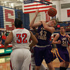 11-10-12<br /> Kokomo vs Northwestern girls bball<br /> Brooke Treadway of Northwestern tries to rebound the ball during the game against Kokomo on Saturday night.<br /> KT photo | Kelly Lafferty