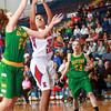 11-28-12<br /> Eastern vs Kokomo girls bball<br /> Eastern's Mercedes Rubow and Kokomo's Allie Lowe both go up for the rebound during Wednesday night's game.<br /> KT photo | Kelly Lafferty