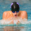 11-20-12<br /> Northwestern HS swimming Vs. Pioneer<br /> Austin Roberts swimming the individual IM<br /> KT photo | Tim Bath