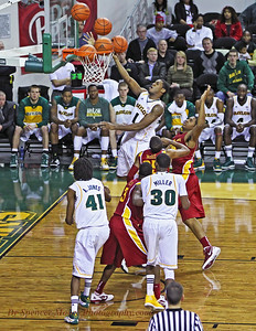 I nice soft lay-up shot from Perry Jones III. He could have had a dunk but chose to finesse the shot.
