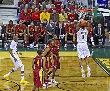 Perry Jones III power dunk shot.