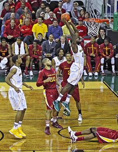A great power dunk by Quincy Acy for Baylor.