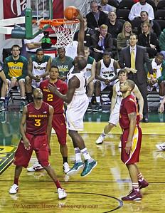 Quincy Acy dunk shot.