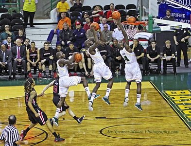 This was Baylor's final home game for the 2012 season and the seniors were honored after the game. It was a nice ending since Baylor defeated Texas Tech. Here is senior, Quincy Acy in a sequence picture making a nice easy lay-up shot. He most certainly will be missed next year.
