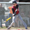 Action during the Dundee vs. Naples baseball game, April 18, 2015.