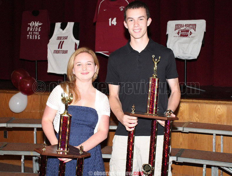 The Harold Lynch Athlete of the Year Awards were presented to Jordan Little and Joey Collins.