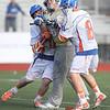Action during the Penn Yan vs.  Webster-Schroeder boys lacrosse game, April 28, 2015.