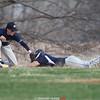 Action during the Watkins Glen vs. Notre Dame baseball game, April 17, 2015.