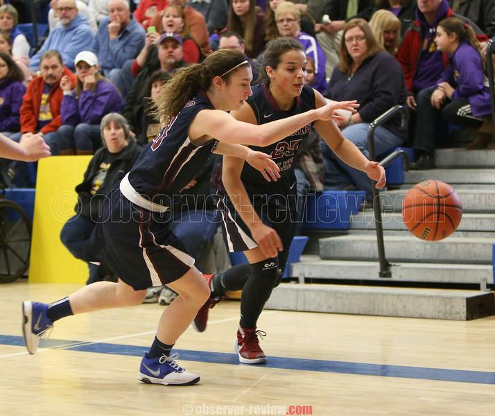 Watkins Glen Girls Basketball 3-5-16.
