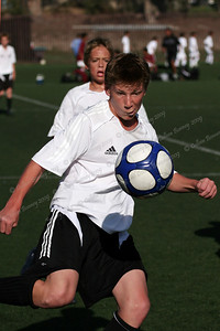 keeping his eye on the ball! Los Gauchos Soccer Club, Redlands, CA