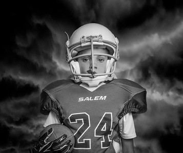 Football Composite Portrait