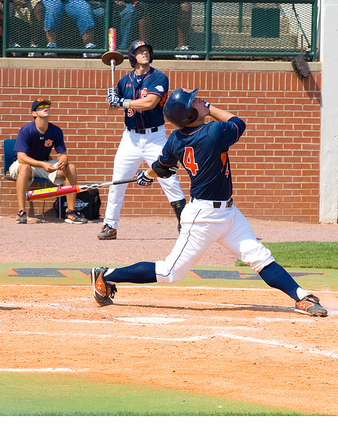 Josh Donaldson catcher for Auburn selected 4th overall in 2007 draft by Chicago Cubs