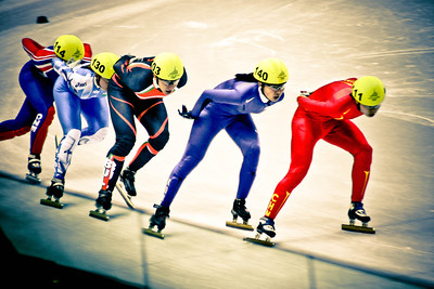 Women's Short Track Skating