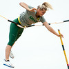 Missouri Southern's Emily Presley warms up for the womens pole vault on Friday during the Bill Williams/Bob Laptad Invitational at MSSU.<br /> Globe | Laurie Sisk