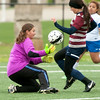 From the left: Carthage goal keeper xx xx (0) tries to stop Joplin's xx xxx (13) during their match on Saturday at JHS.<br /> Globe | Laurie Sisk
