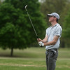 Joplin's Ethan Sage watches intently as his ball falls on the green on Monday at Carthage Golf Course.<br /> Globe | Roger Nomer