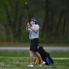 Carthage's Mason Bryant hits a shot on Monday at Briarbrook Golf Course.<br /> Globe | Roger Nomer
