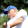 Globe/B.W.Shepherd<br /> Terry Key tees off on the 9th green in the Laffoon Tournament at Twin Hill Golf Course on Saturday, August 11, 2012.