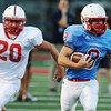 Globe/Roger Nomer<br /> Webb City's Cooper Smith escapes from Seneca's Dalan Merriman during Friday's jamboree.