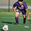 Monett's Juan Sanchez tracks down a loose ball during the Cubs scrimmage against Carthage at the Joplin Jamboree on Tuesday night at Joplin High School.<br /> Globe | Laurie Sisk