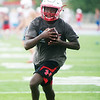 Webb City's Durand Henderson practices on Tuesday in Webb City.<br /> Globe | Roger Nomer