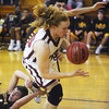 Globe/Roger Nomer<br /> Joplin's Abe Hueller saves a ball from going out of bounds during Friday's game against Kickapoo.