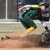 Missouri Western's Lauren Houston (6) slides safely into second base as Missouri Southern's Josie Tofpi (11) fields the throw during their game in the 15th Annual Teri Mathis Zenner Memorial Classic on Friday afternoon at Pat Lipira Field.<br /> Globe | Laurie Sisk
