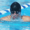 Globe/Roger Nomer<br /> Joplin's Avery Oehlschlager, 13, competes in the 200-yard Medley during the Joplin Invitational at Schifferdecker Pool on Saturday.