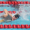 Globe/Roger Nomer<br /> Joplin's Caroline Martucci, 11, swims in the 50-yard freestyle during the Joplin Invitational at Schifferdecker Pool on Saturday.