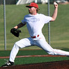Southwest Missouri All-Stars starter Cale McCallister delivers a pitch to the plate during the All-Stars game against the Texas Stix in the Premier Baseball Under 17 National Championship tournament on Thursday at Wendell Redden Field.<br /> Globe | Laurie Sisk