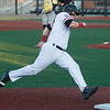 Joplin's Donovan Sutti rounds third base for a game-tying score during Joplin's Mink League play-off game against Jefferson City on Tuesday night at Joe Becker Stadium.<br /> Globe | Laurie Sisk
