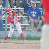 Webb City's Cohen Epler connects to bring in a run to help in the comeback against Daniel Boone little league in Joplin, Mo on Monday.