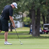 Billy Curry putts the green during the final round of the Joplin Area Golf Championships at Briarbrook Golf Course in Carl Junction.<br /> Globe Israel Perez